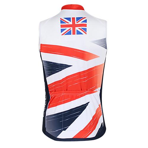 Kooplus2013 Чемпионат Англии Джерси 100% полиэстер Wicking Волокна рукавов жилета Велоспорт отражающей лентой Lightinthebox 1288.000
