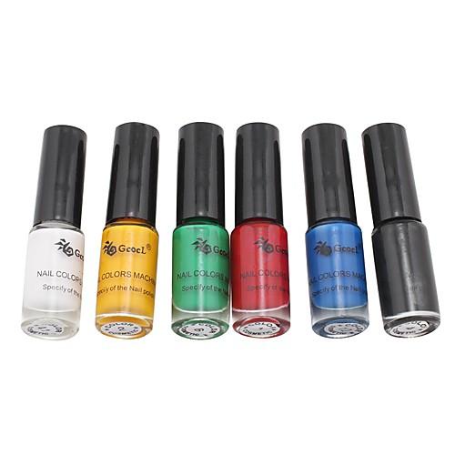 6PCS Top Coat лак для ногтей для тиснения (5 мл) Lightinthebox 545.000