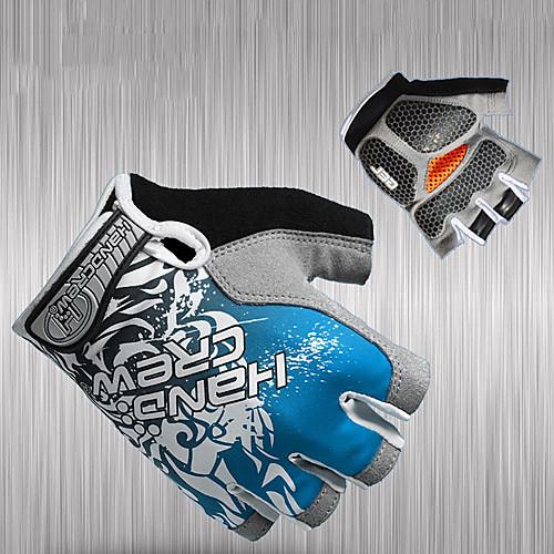 Half-Finger лайкра и противоударный гель Перчатки велосипедные Lightinthebox 472.000
