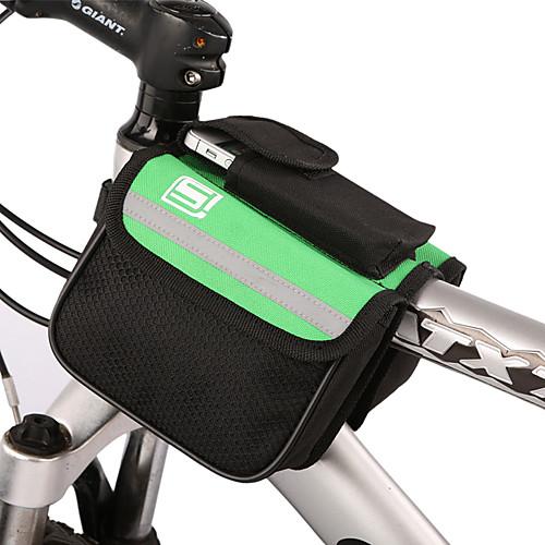 Велоспорт Trame Паньер Передняя труба сумка желтый с крышкой дождя Lightinthebox 343.000