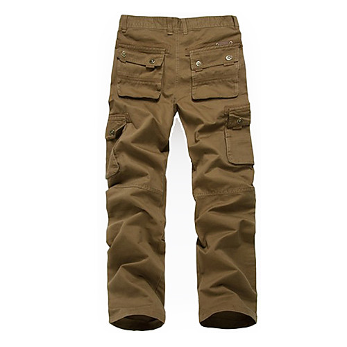Мужская Открытый Multi-карманы повседневные брюки Lightinthebox 1718.000