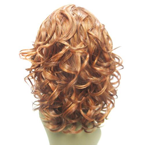 Монолитным 100% человеческих волос Золотой блондинку волнистые волосы парики Lightinthebox 2857.000