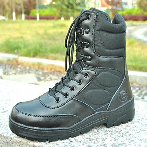 Походные мужские черные сапоги военного стиля Lightinthebox 2922.000