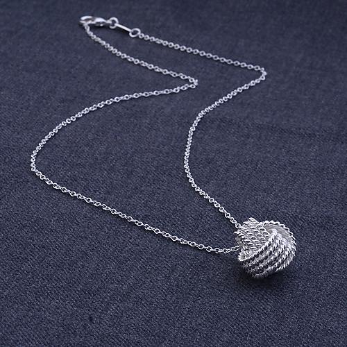 Набор украшений из ожерелья с подвеской и серьгами (покрыты серебром 925 пробы) Lightinthebox 257.000