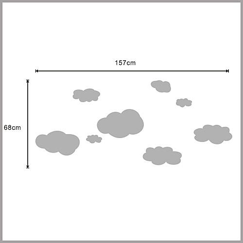 Облака стикер стены Lightinthebox 858.000