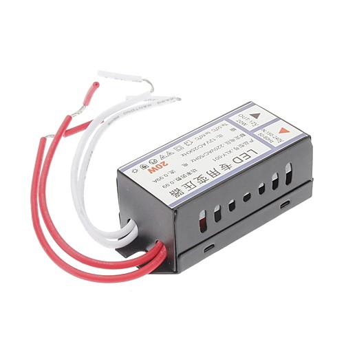 Конвертер напряжения из AC 220V в AC 12V 20W LED Lightinthebox 257.000