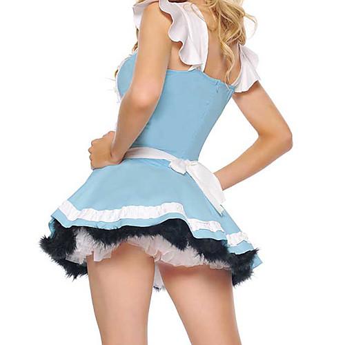 Удивительный мир Алисы синий костюм горничной Lightinthebox 858.000