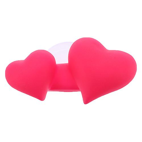 Сладкий Dual-Сердце для зубных щеток с Sucker (случайный цвет) Lightinthebox 107.000