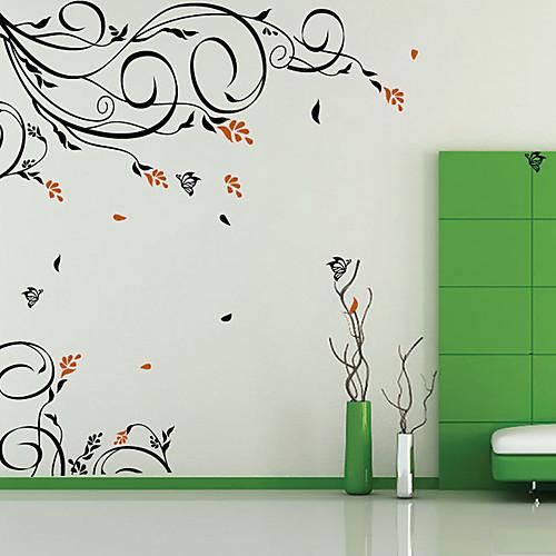 Овсяные Vine Цветок стикер стены Lightinthebox 1288.000