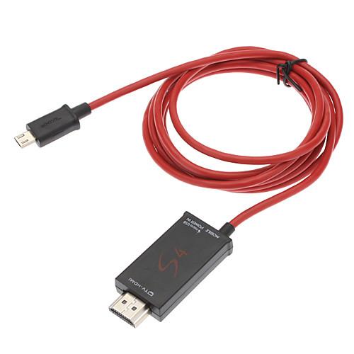 Переходник из MHL в HDMI для Samsung Galaxy S3 I9300, S4 i9500 и Note 2 N7100 Lightinthebox 374.000
