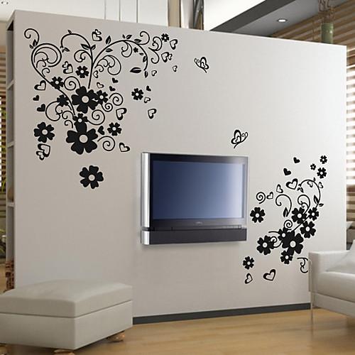 Бабочка Цветок стикер стены Lightinthebox 1718.000