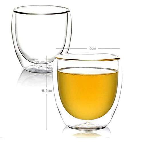 Двойной слой Прозрачные стаканы напитка Lightinthebox 407.000