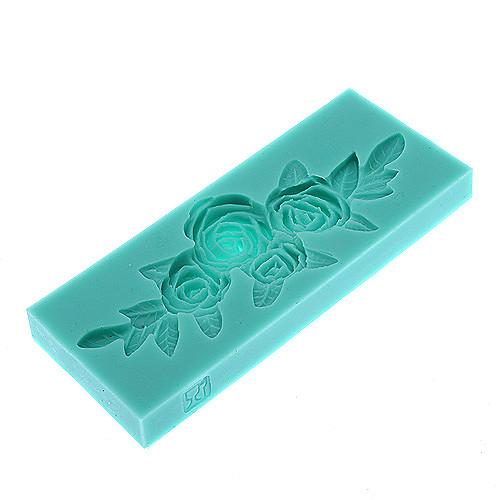 3D Роза отделения Shaped Cookie Силиконовые и печенье Mold Lightinthebox 171.000