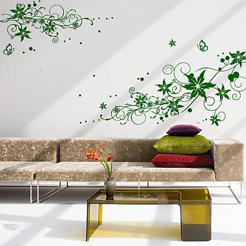 Большие Лозы Цветок стикер стены Lightinthebox 3007.000