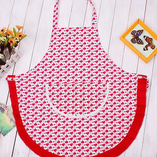 Красный фартук дизайн сердца Lightinthebox 343.000