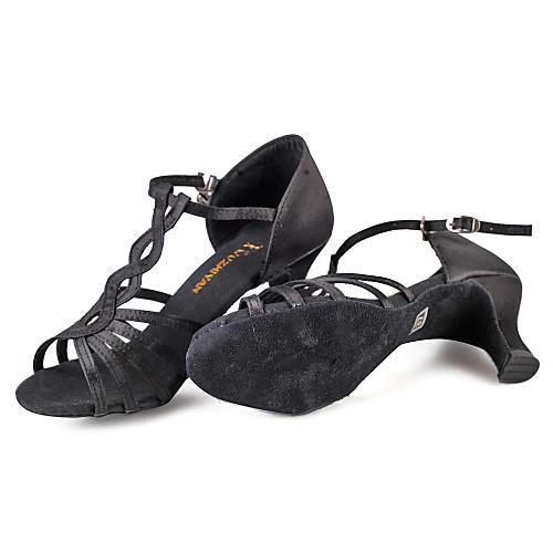 Женская мода атласа верхней танцевальной обуви Lightinthebox 858.000