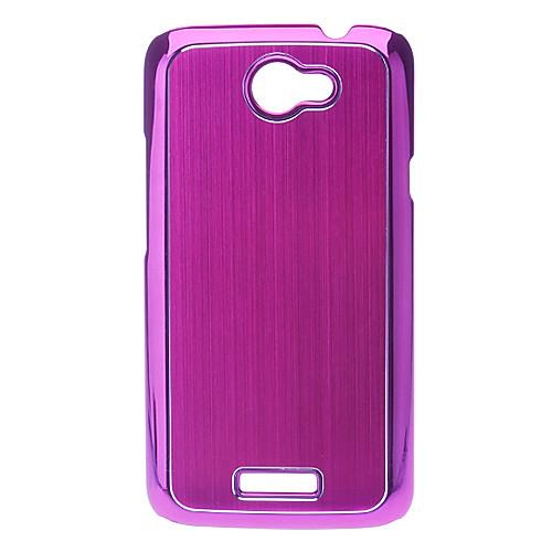пластмассы элегантный защитные жесткий футляр для HTC One X G23 S720e (дополнительный цвет) Lightinthebox 386.000
