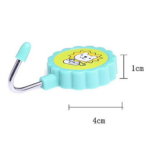 Круглый мультфильм Pattern Магнитная вешалка / Холодильник Крюк 2/Set (случайный цвет) Lightinthebox 128.000