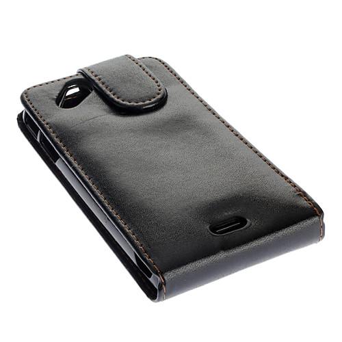 Поднимите вверх и вниз Разработанный PU кожаный черный Полный Дело орган для Sony Ericsson Xperia Arc LT15i / X12 Lightinthebox 214.000