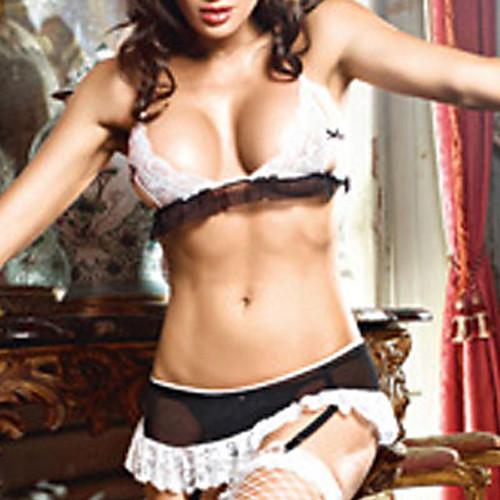 Хозяйка французская горничная сексуальная форма (3 шт) Lightinthebox 515.000