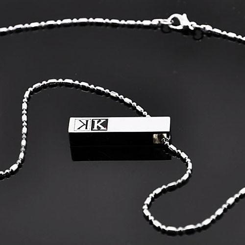 [K] Символ серебряного сплава ожерелье Lightinthebox 214.000