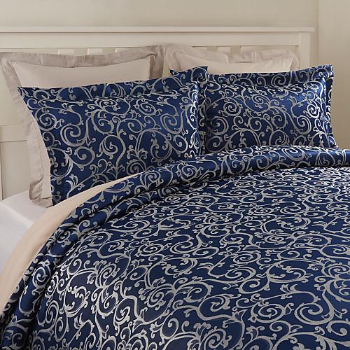 Набор из 2 декоративных наволочек синего цвета с жаккардовым узором Lightinthebox 1159.000