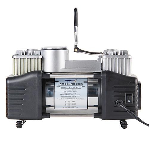 Двухцилиндровый Портативный воздушный компрессор 12V 150PSI со светодиодной подсветкой Lightinthebox 2191.000