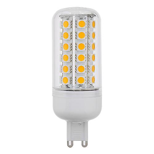 LED лампа типа Corn  (220V), теплый белый свет, G9 8W 48x5050SMD 650LM 3000K Lightinthebox 386.000