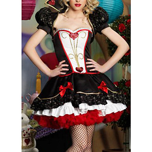 Элегантная дама червей Черный Fancy платье женщин Хеллоуин костюм Lightinthebox 1825.000