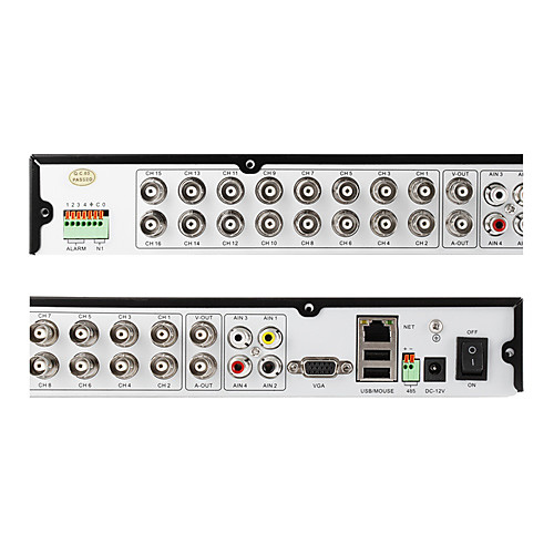 ZMODO 16CH H.264 Автономный CCTV безопасности Видеонаблюдение DVR рекордер Lightinthebox 4726.000