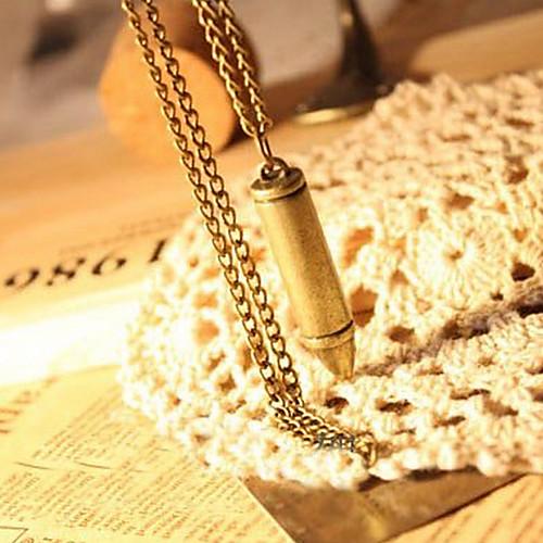 Европейские и американские старинные ожерелья пули бронзовые N69 Lightinthebox 128.000