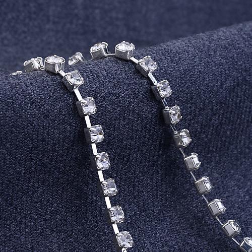 lureme полный Crytal ожерелье коготь цепи и серьги ювелирные изделия эт Lightinthebox 472.000