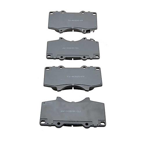 OE Замена передних Платиновый Премиум Керамическая Комплект тормозных колодок для Toyota Sequoia 2001-2007 Lightinthebox 1460.000
