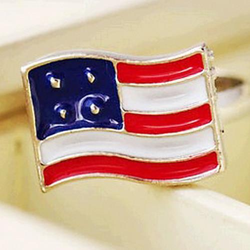 Британской ретро американских Британский флаг кольцо Lightinthebox 42.000