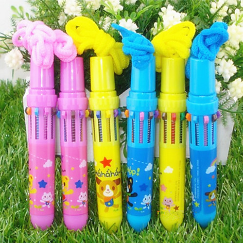 Автоматическая шариковая ручка с 10 цветами (разные цвета) Lightinthebox 64.000