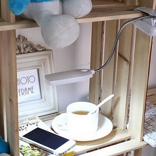 Гибкие светодиодные 28 Накладной Настольная лампа в белом свете  USB Plug Lightinthebox 1288.000