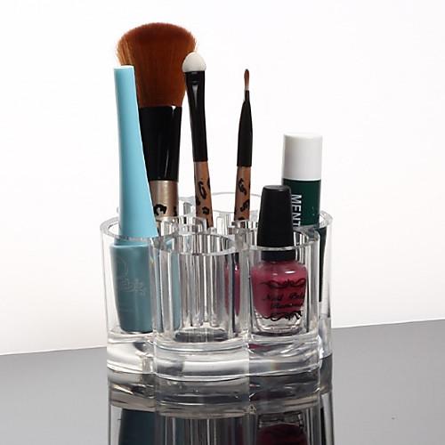 акриловая прозрачная хранения косметики стенд макияж кисти горшок косметические организатор Lightinthebox 248.000