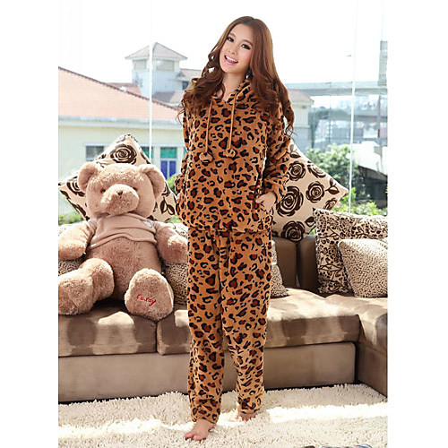 Coral женские руно Leopard Lounge износа Lightinthebox 641.000