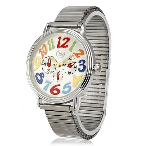 Мода цинковый сплав Чехол кварцевый стальной ленты Аналоговые наручные часы (больше цветов) Lightinthebox 317.000