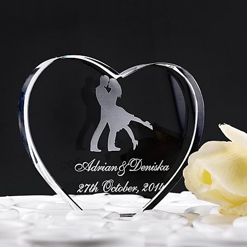 Персонализированные танцуют вместе Свадебный торт Топпер Lightinthebox 513.000