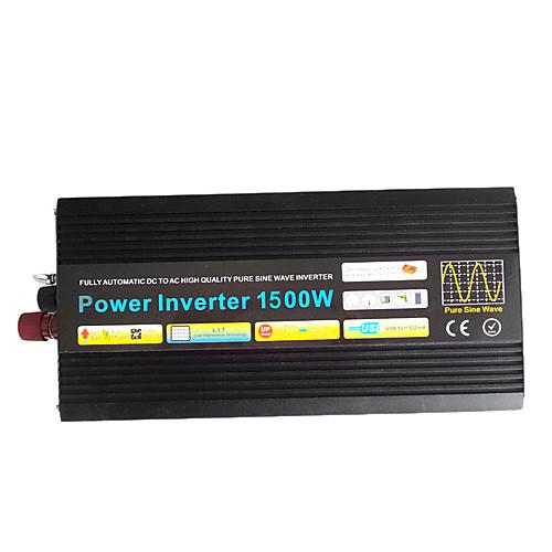 Инвертор 1500w DC12V к AC200-240V, чистая синусоида Lightinthebox 10054.000