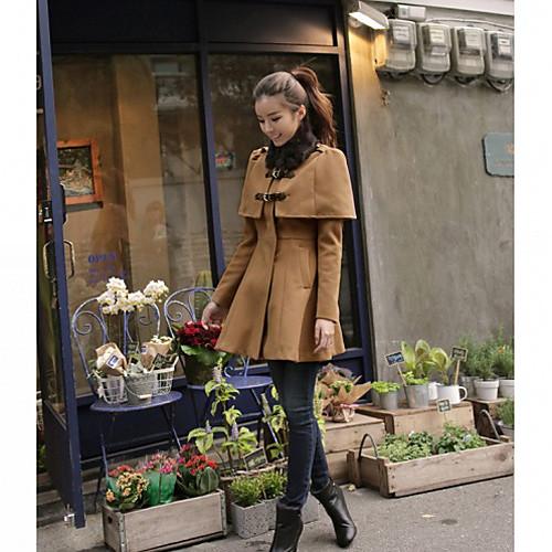 Мыса женщин Стиль складки пальто Lightinthebox 2317.000