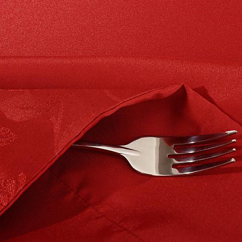 Скатерть бордово-красная с цветочным узором Lightinthebox 1439.000