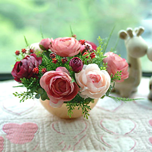 расположение страны розы в стеклянной вазе Lightinthebox 2148.000
