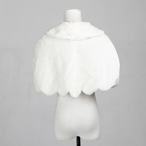 Искусственный мех особых поводов / свадебный платок Закрытие Lightinthebox 583.000