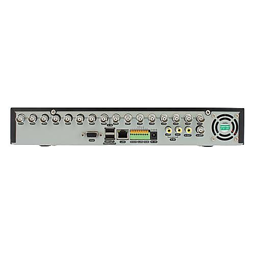 Ультра низкая цена 16 каналов Full D1 в реальном времени Автономный DVR с аудио, пульт дистанционного управления, доступ к сети (NO HDD) Lightinthebox 3738.000
