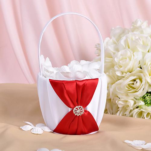 цветок корзины в атлас со стразами и створки (больше цветов) Lightinthebox 429.000