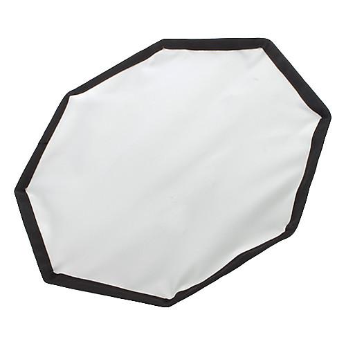 Восьмиугольника Ткань софтбокс рассеиватель - черный  серебро (L-размер) Lightinthebox 901.000