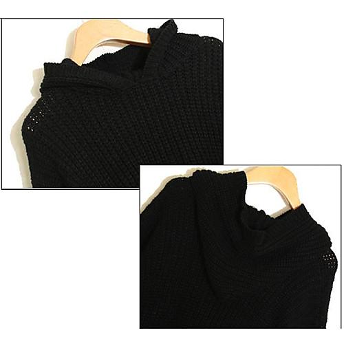 Толстовка Женская свободная посадка Длинные асимметричные рукава и пиджаки Lightinthebox 1005.000