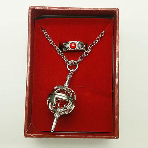 Кеко Сакура Box-упакованный Круглый Ожерелье Косплей Ядро и кольцо Lightinthebox 429.000